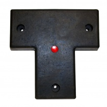 "RM-T 22"" x 22"" x 3""Molded Rubber Bumper"